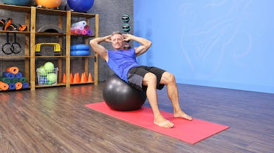 9-28-16 Pilates Mat Abs with Stability Ball by John Garey TV