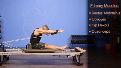 Front Rowing- Round Forward with Arm Circles - Anatomy and Biomechanics by John Garey TV