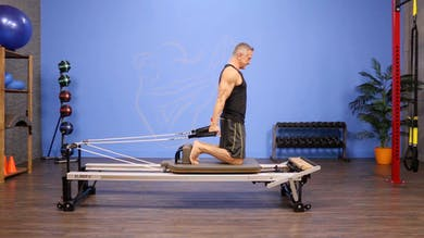 Front Rowing- Round Forward with Arm Circles - Progressions by John Garey TV