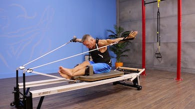 Front Rowing- Round Forward with Arm Circles - Programming by John Garey TV