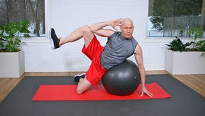 Swiss Ball Workout - Pilates and Fitness Fusion by John Garey TV