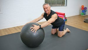 20 Minute Beginner Pilates Mat and Swiss Ball Workout by John Garey TV