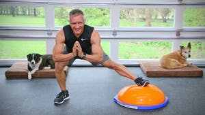 Instant Access to 20 Minute Fitness Series - Full Body BOSU Workout 1 by John Garey TV, powered by Intelivideo