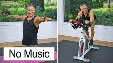 Cycle and Mat Workout No Music 10-16-20 by John Garey TV