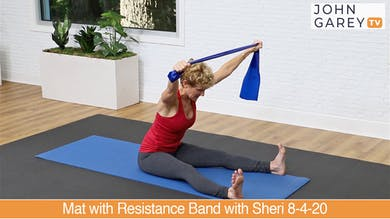 Preview for Mat with Resistance Band with Sheri 8-4-20 by John Garey TV