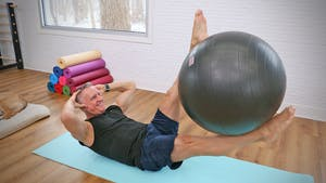 Instant Access to 20 Minute Mat Workout Series - Mat Circuit with Swiss Ball by John Garey TV, powered by Intelivideo