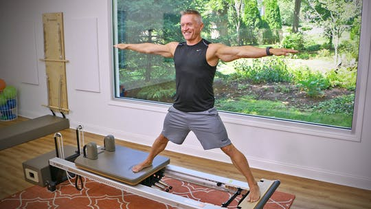 Instant Access to Beginner Reformer Series Workout 4 by John Garey TV, powered by Intelivideo