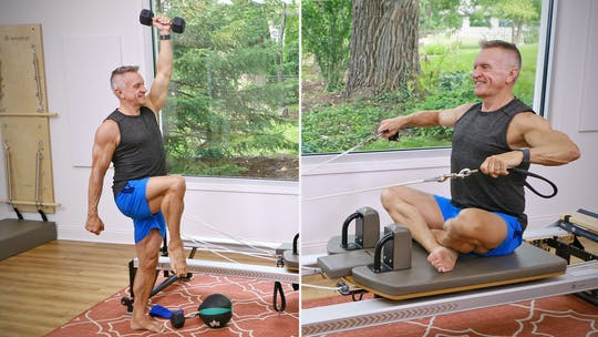 Instant Access to Fitness and Pilates Series Workout 1 - Weights and Reformer by John Garey TV, powered by Intelivideo