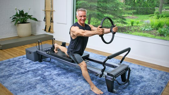 30 Minute Power Reformer Workout with Pilates Circle 2 by John Garey TV