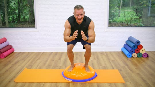 20 Minute Mat Series - Beginner BOSU Workout by John Garey TV