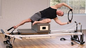 Instant Access to Fitness Reformer Workout Level 2, 3-20-18 by John Garey TV, powered by Intelivideo
