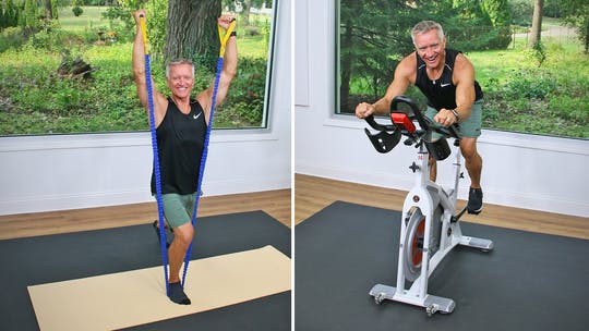 Cycle and Tubing Workout 10-2-20 by John Garey TV
