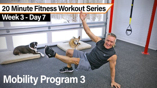 20 Minute Fitness Workout Series - Mobility Program 3 by John Garey TV, powered by Intelivideo