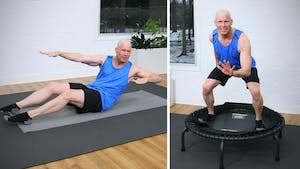 Trampoline and Pilates Mat by John Garey TV