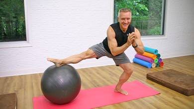 Summer Body Mat Workout - Total Body Sculpt with the Swiss Ball by John Garey TV