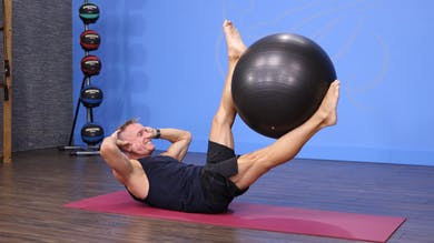 Pilates Mat with Swiss Ball 11-15-17 by John Garey TV