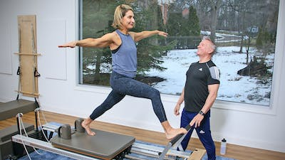 6 Week Intermediate Reformer Series - Workout 9 by John Garey TV