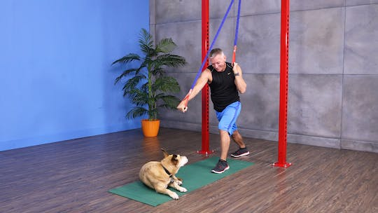Instant Access to Strength Training with Tubing Workout 12-22-17 by John Garey TV, powered by Intelivideo
