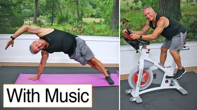 Cycle - Mat Workout with Music 9-18-20 by John Garey TV