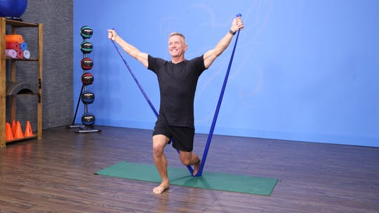 Pilates Mat and Band Workout 12-13-17 by John Garey TV