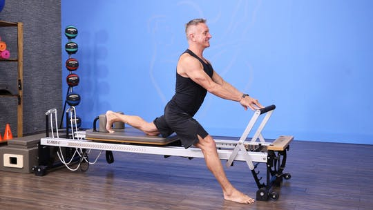 Beginner Reformer Workout 11-20-17 by John Garey TV