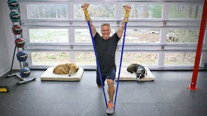Instant Access to 20 Minute Workout Series - Full Body Strength with Tubing by John Garey TV, powered by Intelivideo