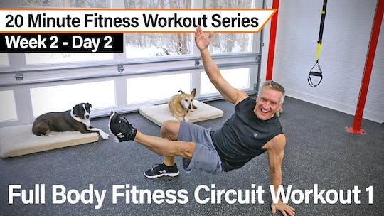 20 Minute Fitness Workout Series - Full Body Fitness Circuit Workout by John Garey TV, powered by Intelivideo