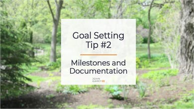Goal Setting Tip 2 by John Garey TV
