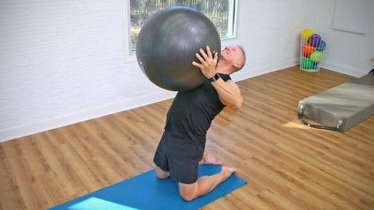 30 Minute Pilates Mat and Swiss Ball Workout by John Garey TV