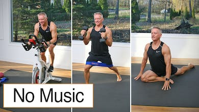Cycle, Strength and Stretch No Music 11-27-20 by John Garey TV
