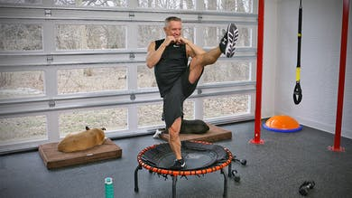 20 Minute Fitness Series - Tabata Cardio Trampoline Workout by John Garey TV