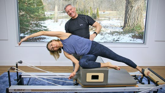 6 Week Intermediate Reformer Series - Workout 5 by John Garey TV