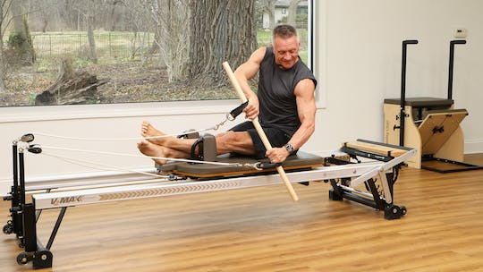 Instant Access to Intermediate Strength and Mobility Reformer Workout by John Garey TV, powered by Intelivideo