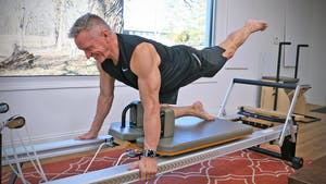 Instant Access to 20 Minute Reformer Workout Series - Lower Body Circuit 1 by John Garey TV, powered by Intelivideo