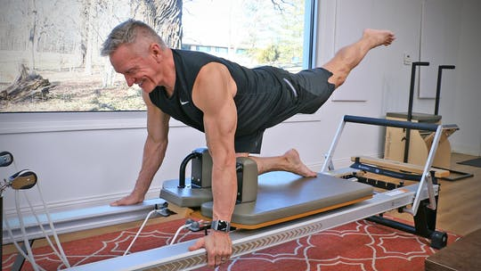 20 Minute Reformer Workout Series - Lower Body Circuit 1 by John Garey TV