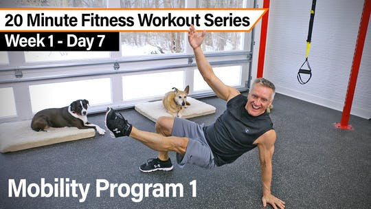 20 Minute Reformer Workout Series - Mobility 1 by John Garey TV, powered by Intelivideo