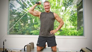 Instant Access to Summer Body Reformer Workout - Shoulders and Arms Sculpt 1 by John Garey TV, powered by Intelivideo