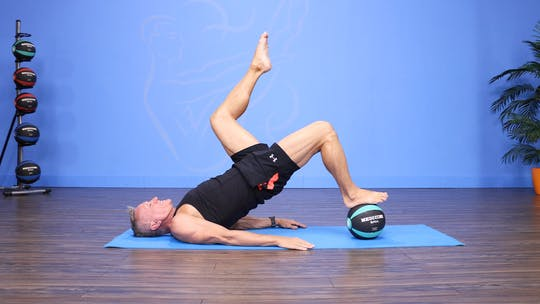 Intermediate Pilates Mat with Med Ball Workout 11-29-17 by John Garey TV