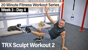 Instant Access to 20 Minute Fitness Workout Series - TRX Sculpt Workout 2 by John Garey TV, powered by Intelivideo