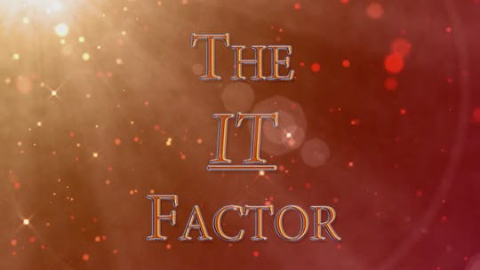 Instant Access to Chapter 7 - The IT Factor by John Garey TV, powered by Intelivideo