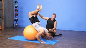 Pilates Mat Workout with Ball and Circle 1-10-18 by John Garey TV
