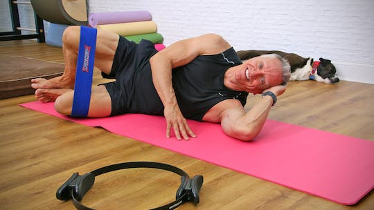 30 Minute Mat Workout with Circle and Slingshot by John Garey TV, powered by Intelivideo