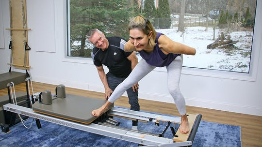 6 Week Intermediate Reformer Series - Workout 6 by John Garey TV