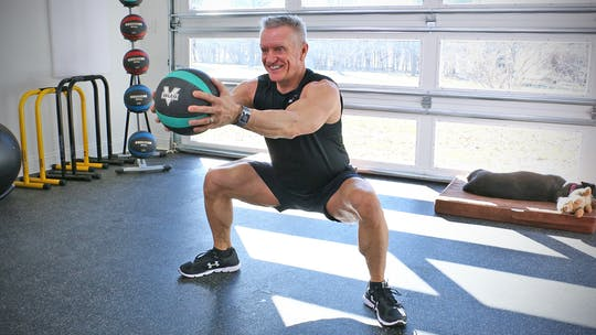 20 Minute Fitness Series - Med Ball Tabata Workout by John Garey TV