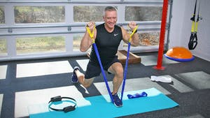 Leg Workout with Tubing, Circle, and Slingshot 1-10-20 by John Garey TV