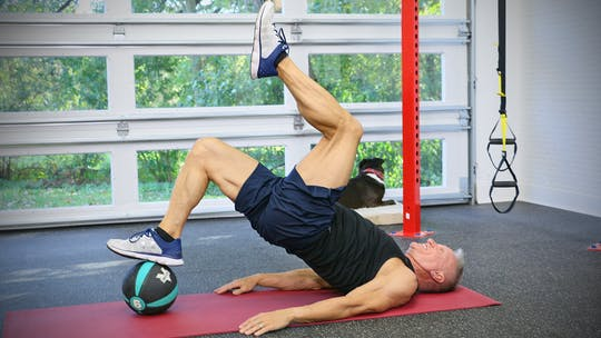 Instant Access to 20 Minute Workout Series - Med Ball Strength Workout 1 by John Garey TV, powered by Intelivideo