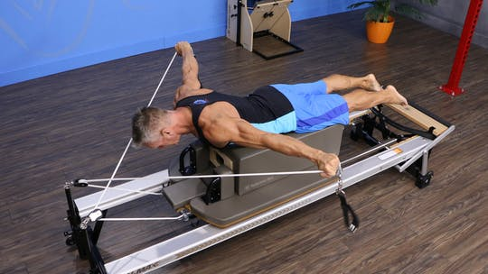 Upper Body Focus Workout on the Reformer 4-9-18 by John Garey TV