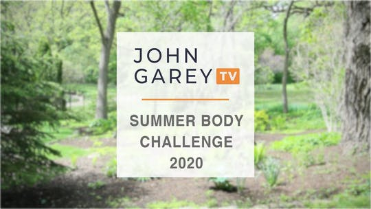 Summer Body Challenge Workout Nots by John Garey TV