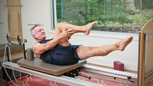 Instant Access to 20 Minute Reformer Workout Series - Intermediate Jumpboard 1 by John Garey TV, powered by Intelivideo