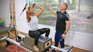 Athletic Reformer Workout with Patty 4-8-19 by John Garey TV
